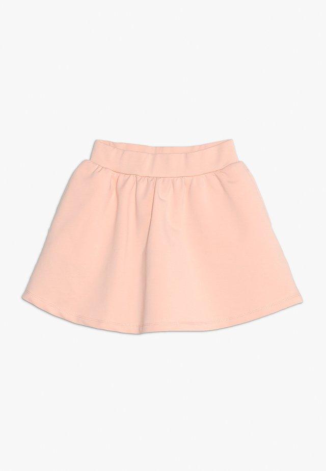 SKIRT - Áčková sukně - tropical peach