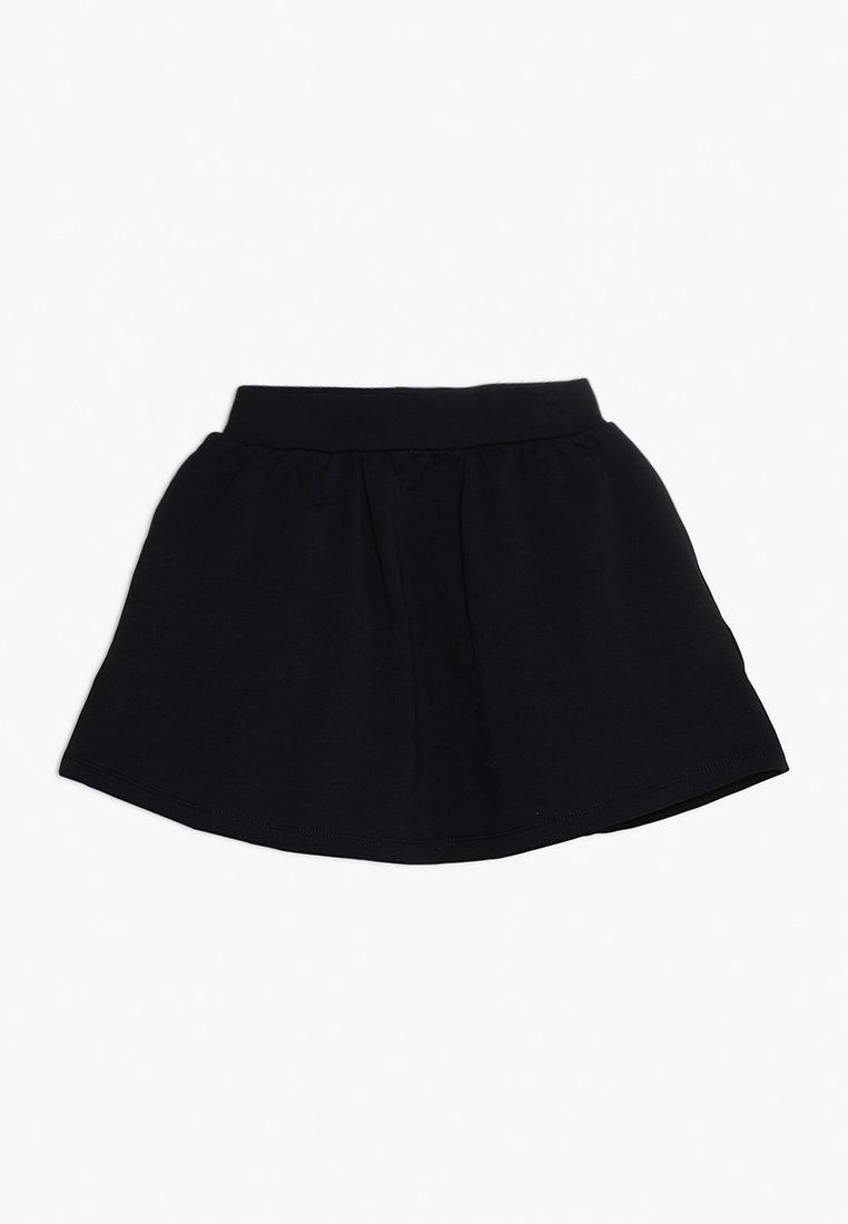 igi natur - SKIRT - Áčková sukně - black