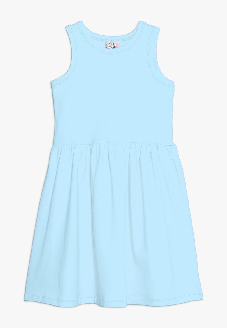 igi natur - DRESS - Jerseyjurk - blue chambray