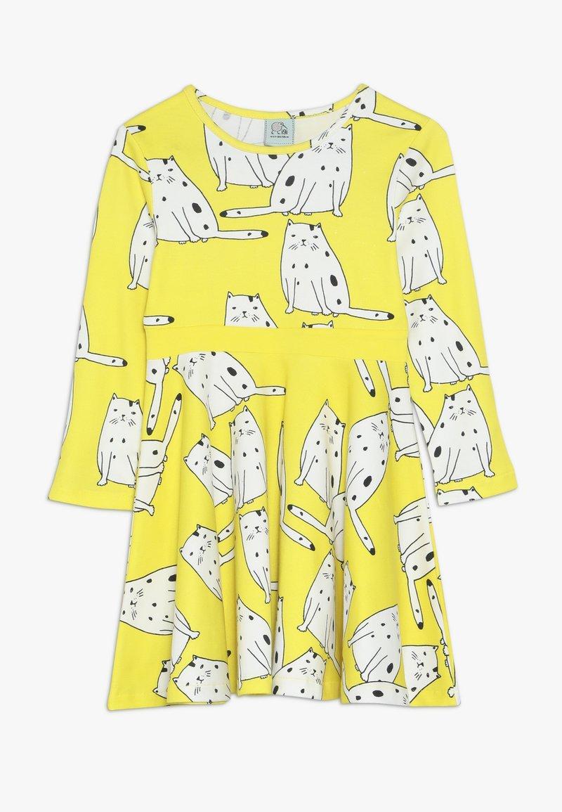 igi natur - LONG DRESS - Žerzejové šaty - yellow