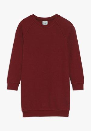 KIDS RAGLAN DRESS  - Jerseykjoler - rhubarb