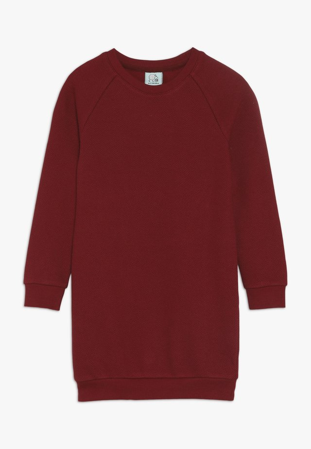 KIDS RAGLAN DRESS  - Jersey dress - rhubarb