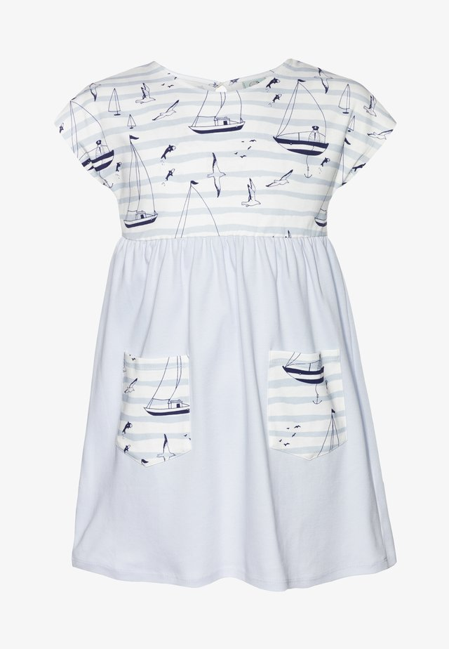 CORE SAILOR POCKET DRESS - Jerseyklänning - light blue