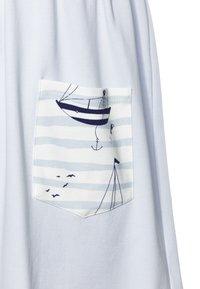 igi natur - CORE SAILOR POCKET DRESS - Žerzejové šaty - light blue - 2