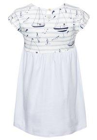 igi natur - CORE SAILOR POCKET DRESS - Žerzejové šaty - light blue - 1