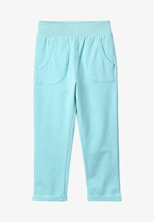 WITH POCKETS - Teplákové kalhoty - filtered aqua