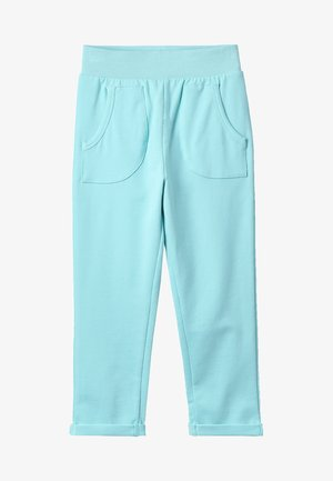 WITH POCKETS - Pantalon de survêtement - filtered aqua