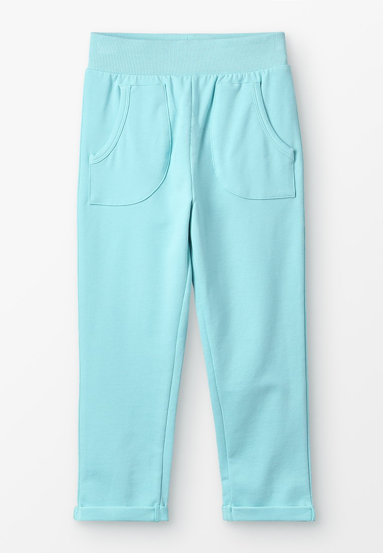 igi natur - WITH POCKETS - Tracksuit bottoms - filtered aqua