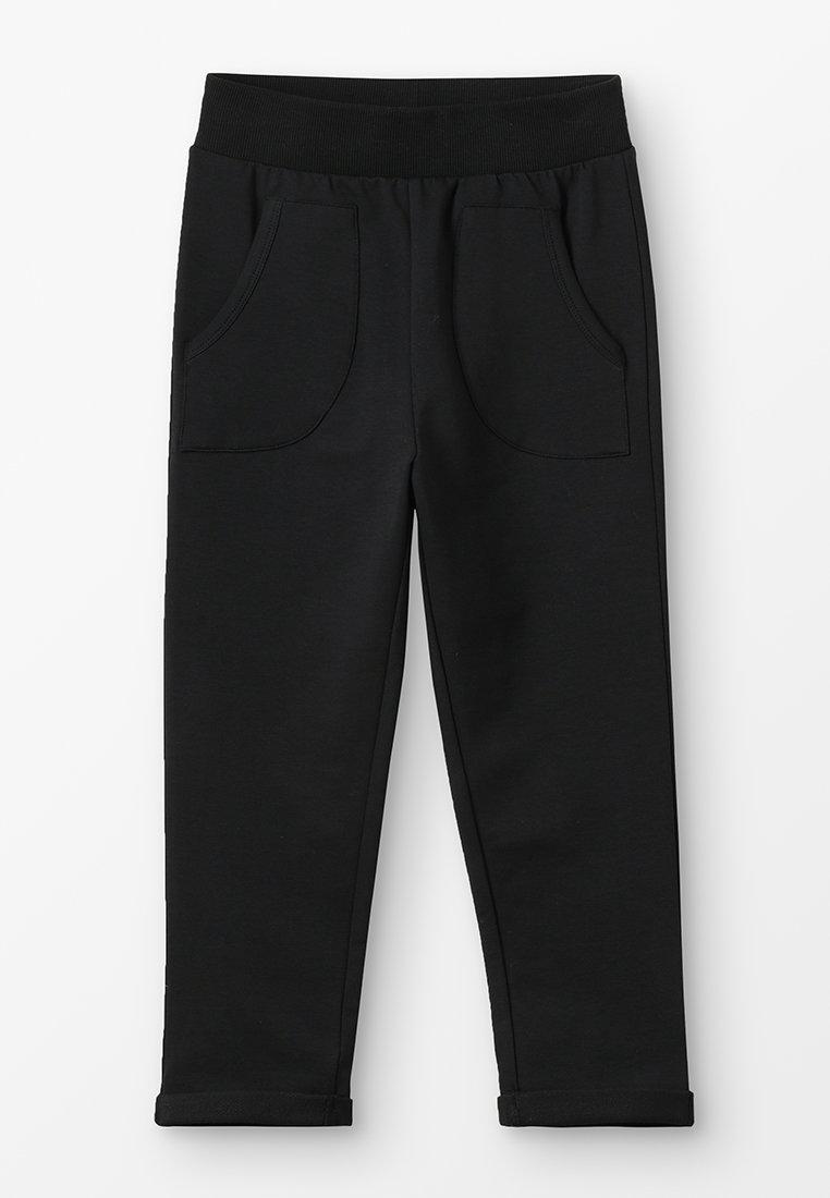 igi natur - WITH POCKETS - Teplákové kalhoty - black