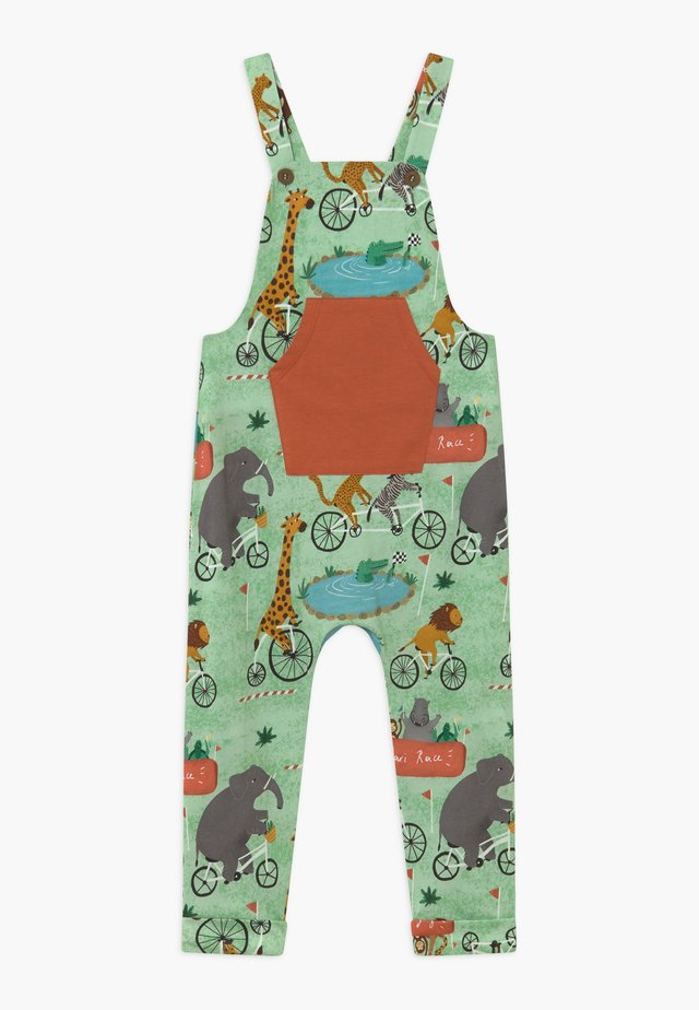 CORE BICYCLE RACE DUNGAREES - Haalari - light green