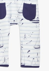 igi natur - ZGREEN CORE SAILOR DUNGAREES - Jumpsuit - light blue - 2