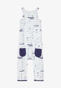 igi natur - ZGREEN CORE SAILOR DUNGAREES - Jumpsuit - light blue - 3