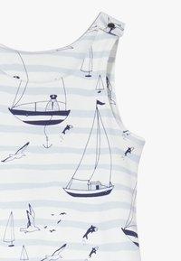 igi natur - ZGREEN CORE SAILOR DUNGAREES - Jumpsuit - light blue - 4