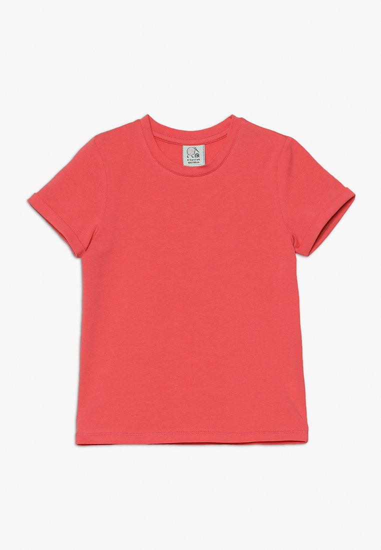 igi natur - WITH ROLLED SLEEVE - T-shirts basic - sugared coral