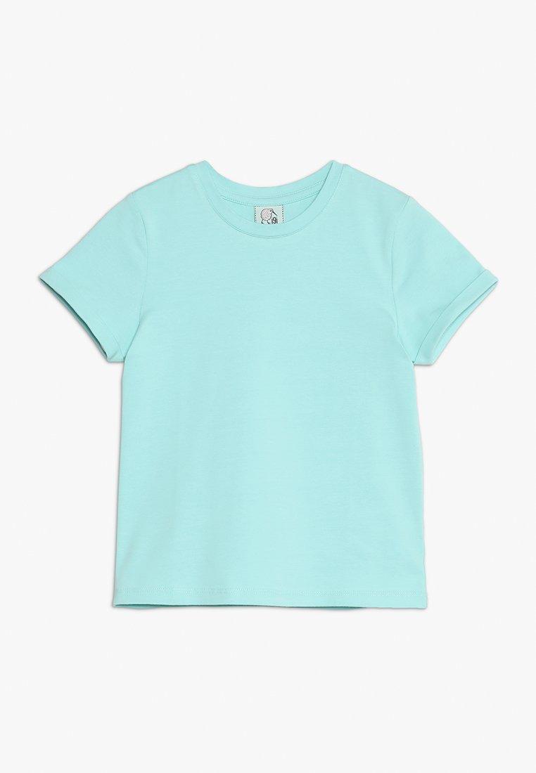 igi natur - WITH ROLLED SLEEVE - T-shirts basic - filtered aqua