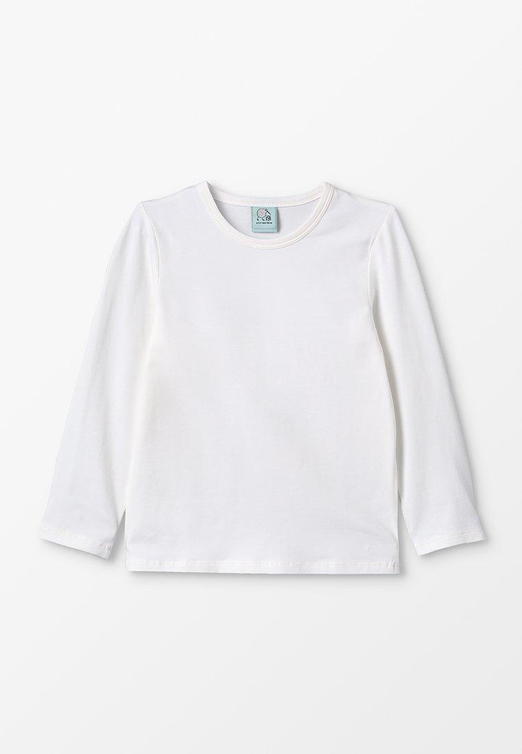 igi natur - LONGSLEEVE - Bluzka z długim rękawem - white