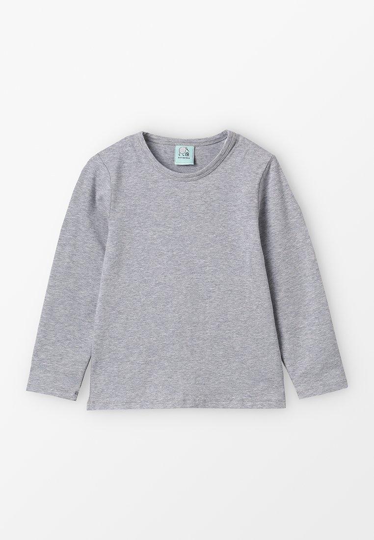 igi natur - LONGSLEEVE - Langærmede T-shirts - grey