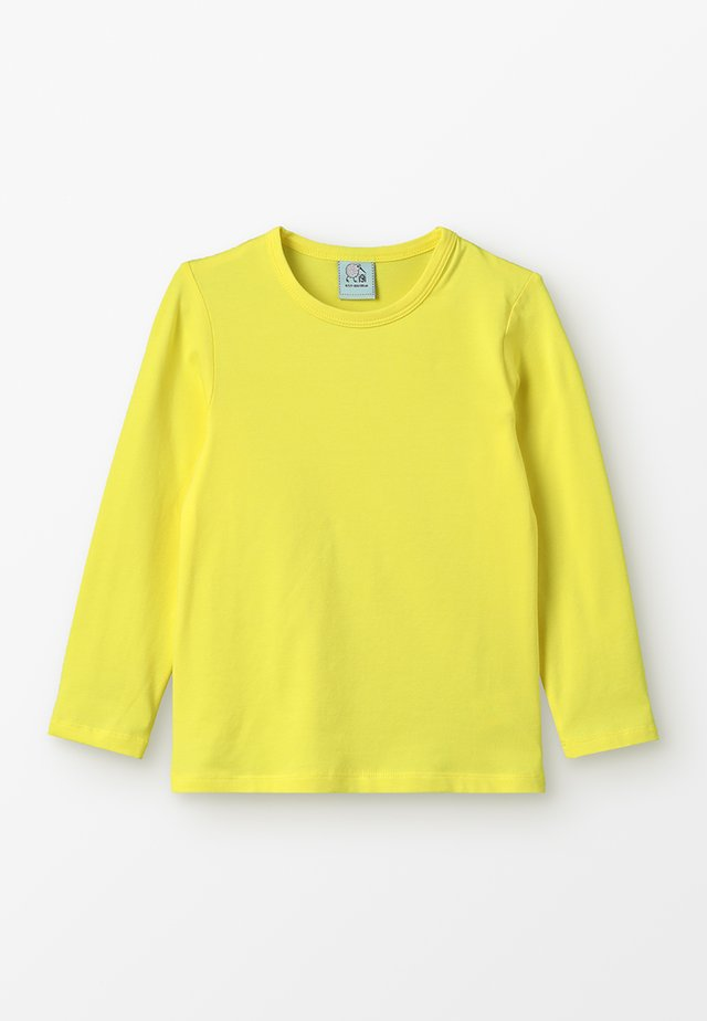 LONGSLEEVE - Long sleeved top - sunny yellow