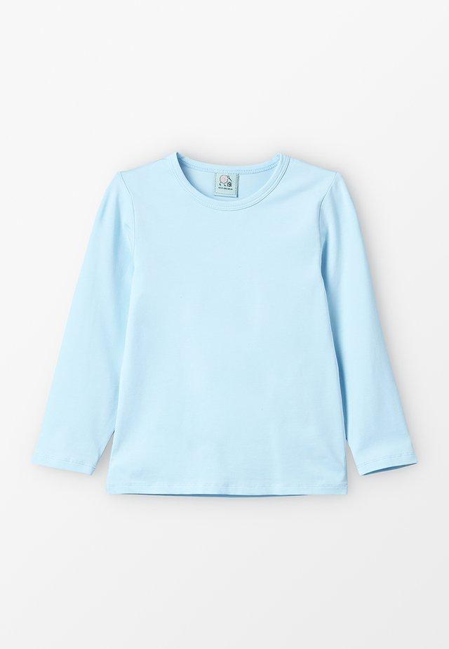 LONGSLEEVE - Langærmede T-shirts - blue chambray