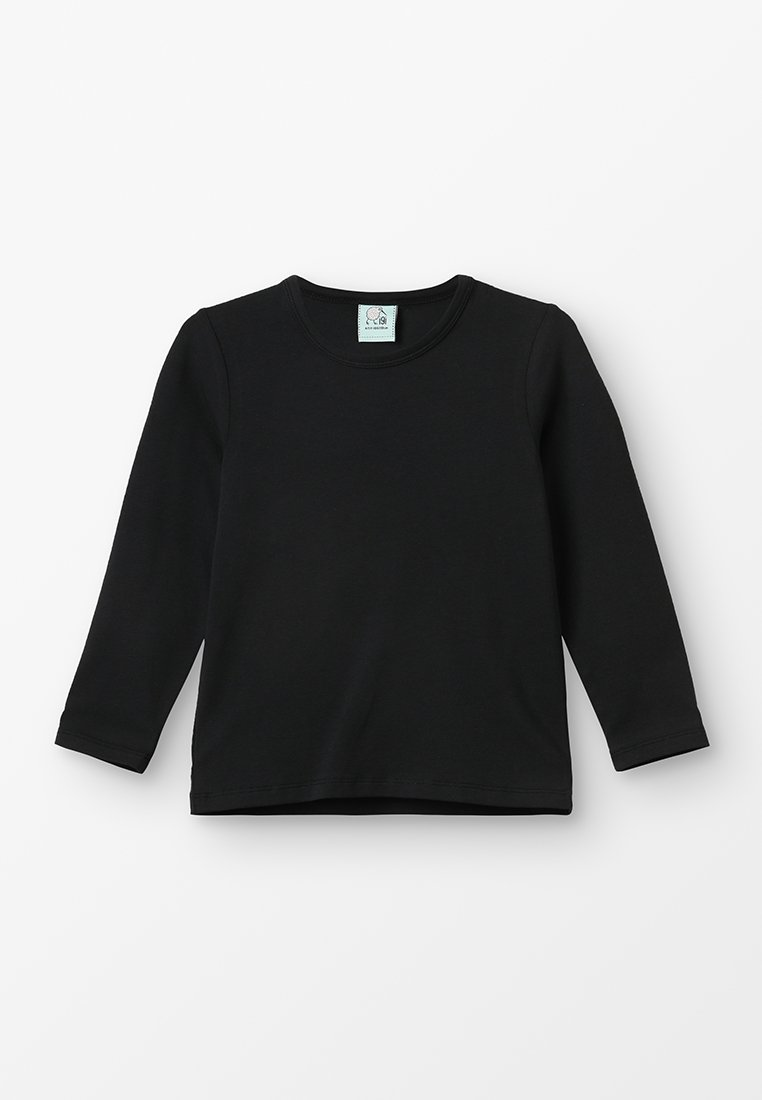 igi natur - LONGSLEEVE - Long sleeved top - black