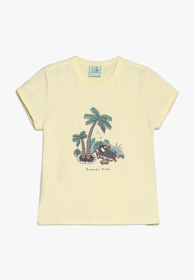igi natur - T-Shirt print - soft yellow