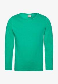 igi natur - Top sdlouhým rukávem - emerald - 0