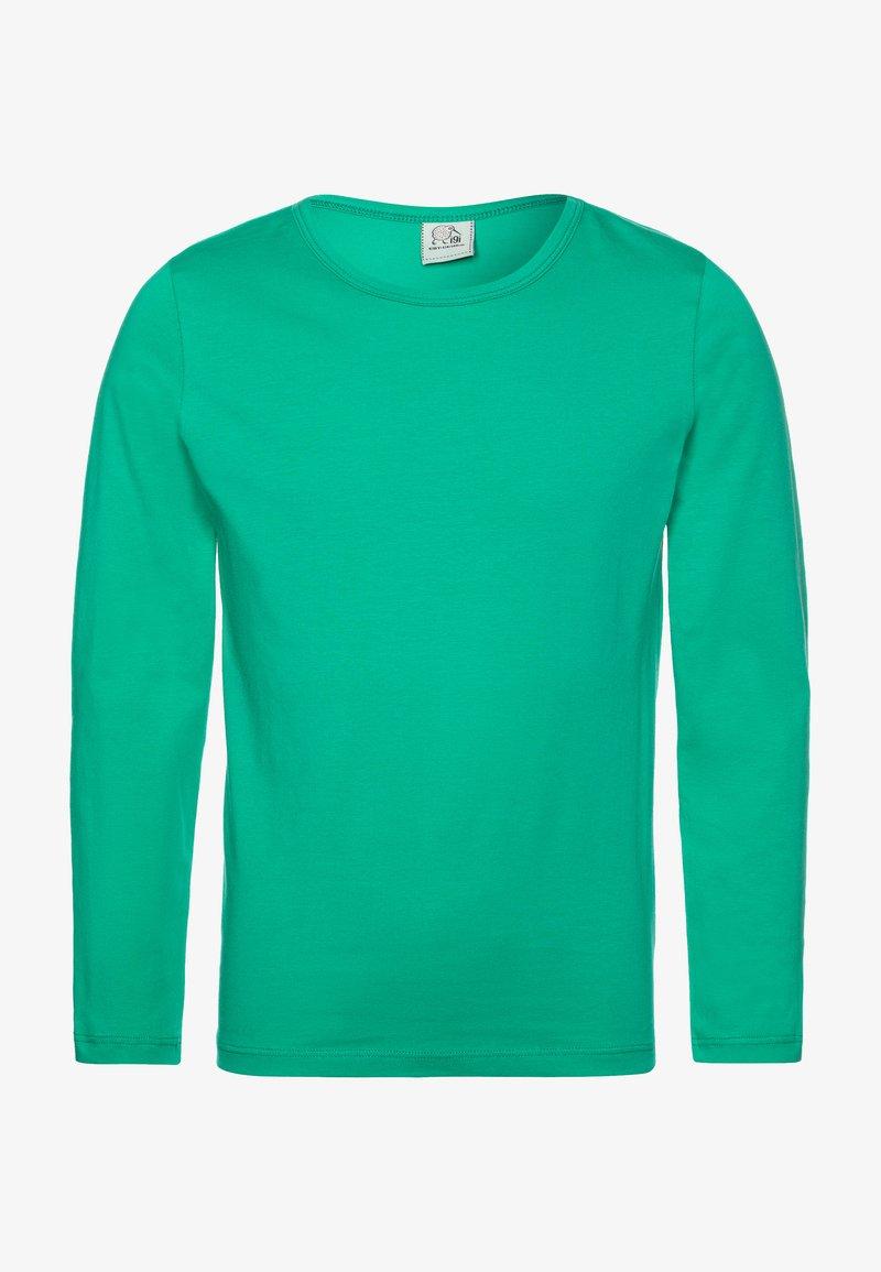 igi natur - Top sdlouhým rukávem - emerald