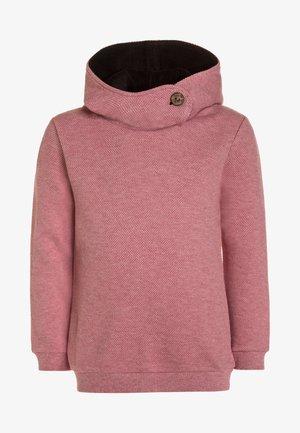 HOODY - Bluza z kapturem - persian red melange