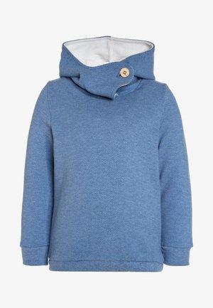 GOTS HOODY - Hoodie - top blue melange