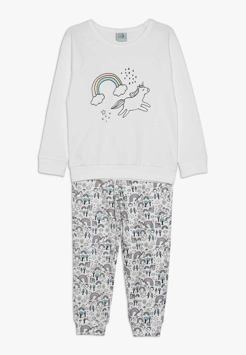 igi natur - GIRLS - Pyjama set - white