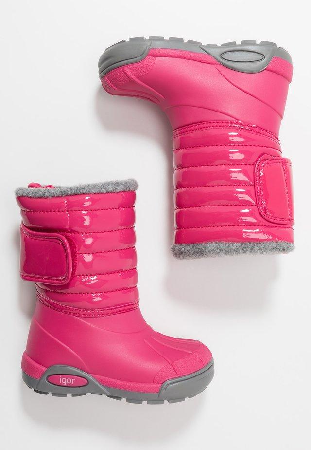 TOPO SKI CHAROL - Winter boots - fucsia