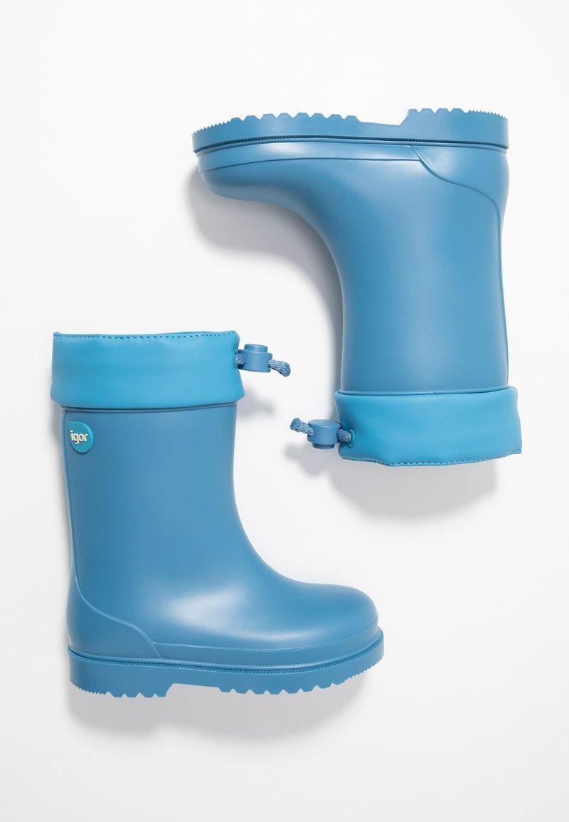 IGOR  - CHUFO CUELLO - Wellies - azul/blue