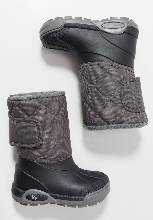 TOPO SKI - Winter boots - gris