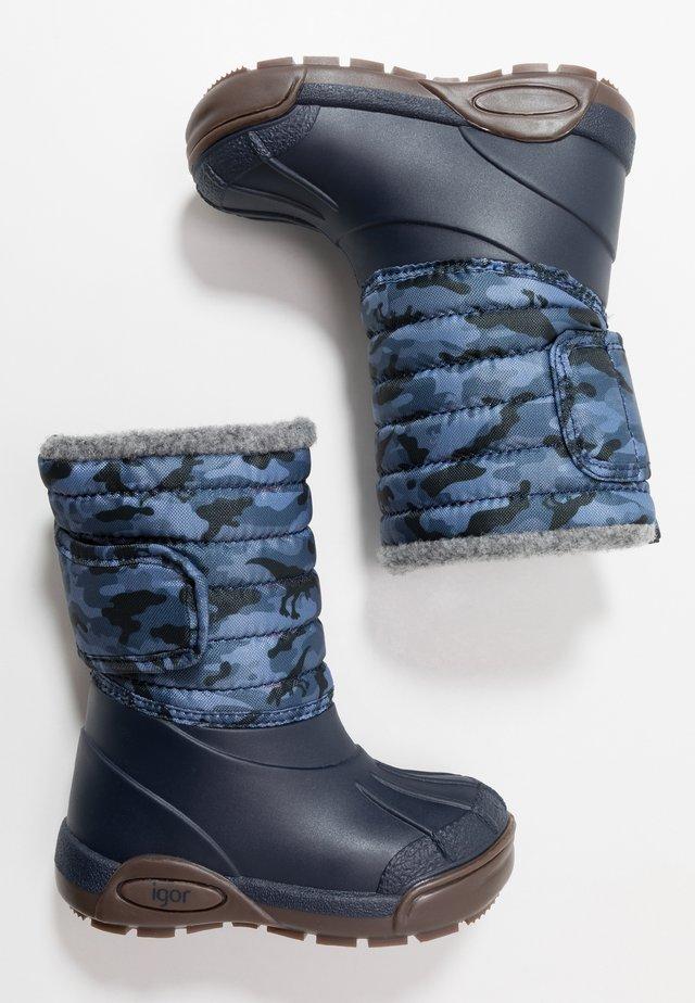 TOPO SKI - Snowboot/Winterstiefel - marino/navy