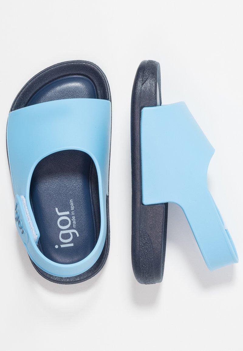 IGOR - BICOLOR - Sandály do bazénu - navy