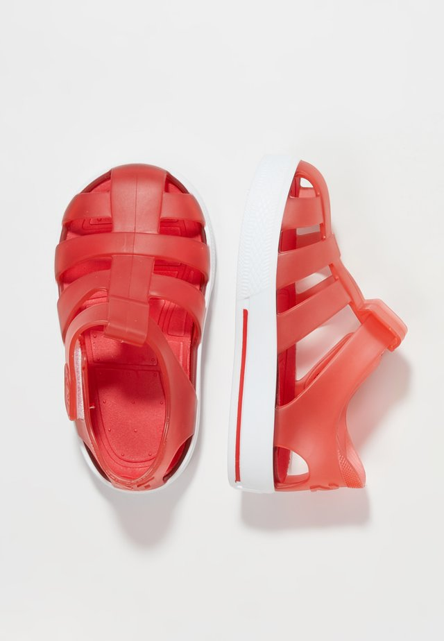 STAR - Badslippers - red