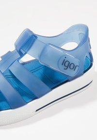 IGOR - STAR - Sandály do bazénu - navy - 2