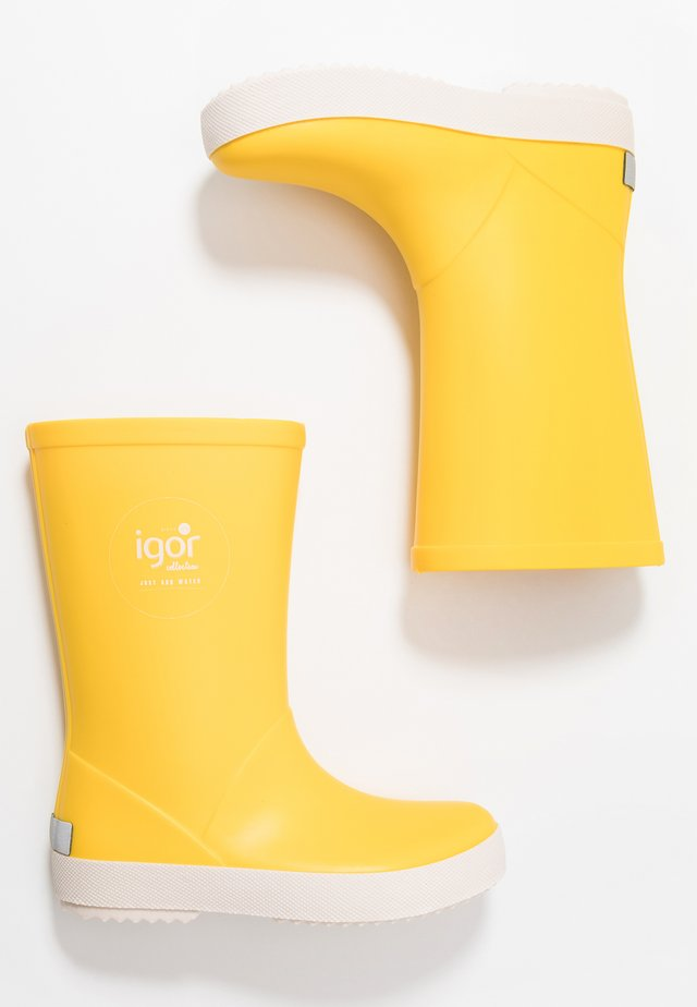 SPLASH NAUTICO UNISEX - Gummistøvler - amarillo/yellow