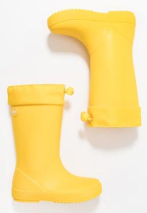SPLASH COLE - Gummistøvler - amarillo/yellow