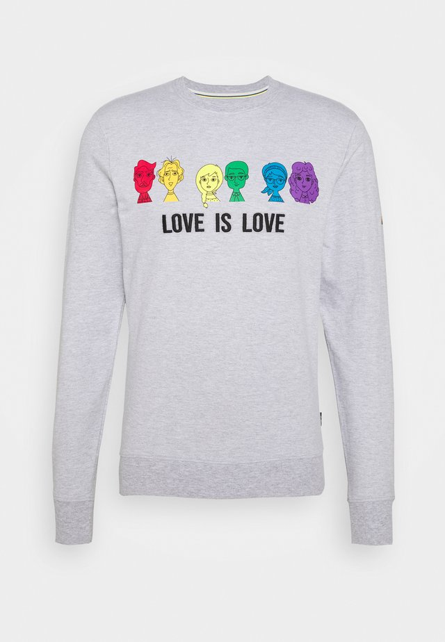 UNISEX PRIDE JARVIS - Sweatshirt - light grey melange
