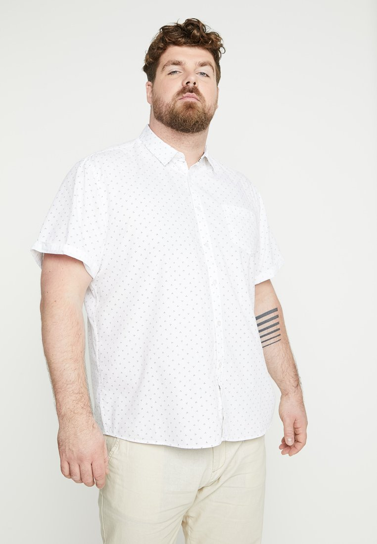 INDICODE JEANS - HALIFAX PLUS - Shirt - offwhite