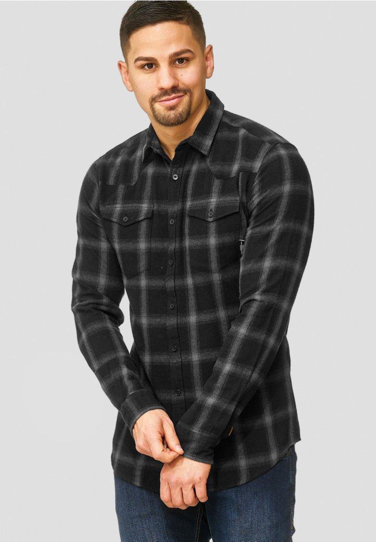 INDICODE JEANS - ALTIN - Skjorter - black