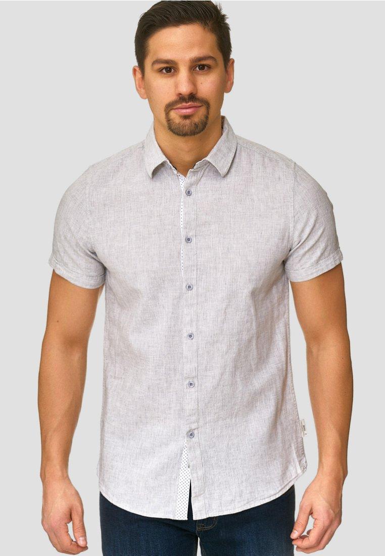 INDICODE JEANS - Shirt - lt grey