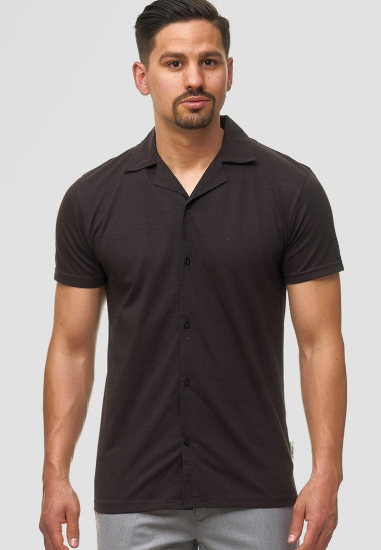 INDICODE JEANS - Chemise - anthracite