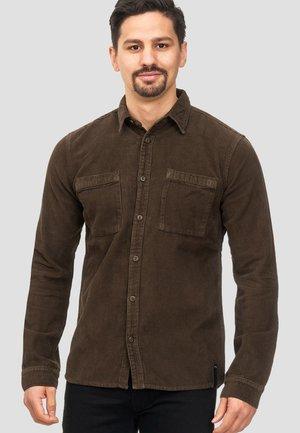 FULHAM - Chemise - mottled brown