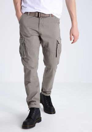 WILLIAM - Pantaloni cargo - greige