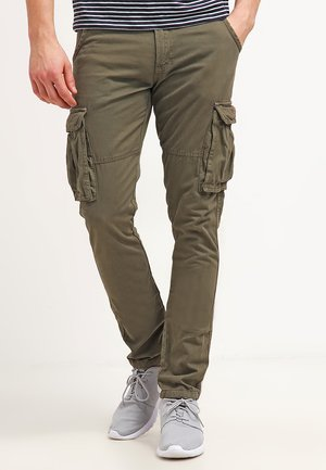 WILLIAM - Pantalon cargo - army