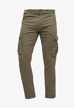 WILLIAM - Pantaloni cargo - army