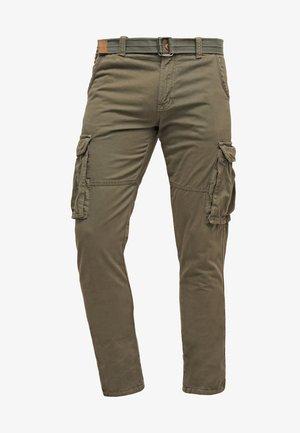 WILLIAM - Pantalon cargo - army