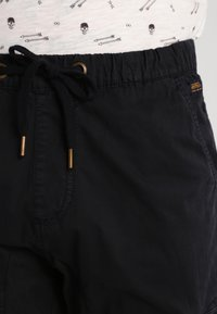 INDICODE JEANS - LEVI - Cargo trousers - black - 3